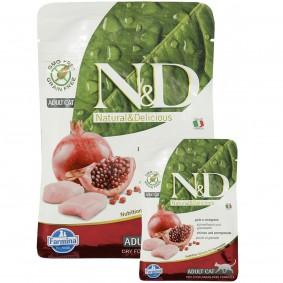N&D Huhn&Granatapfel Adult getreidearm 1,5kg + 300g GRATIS