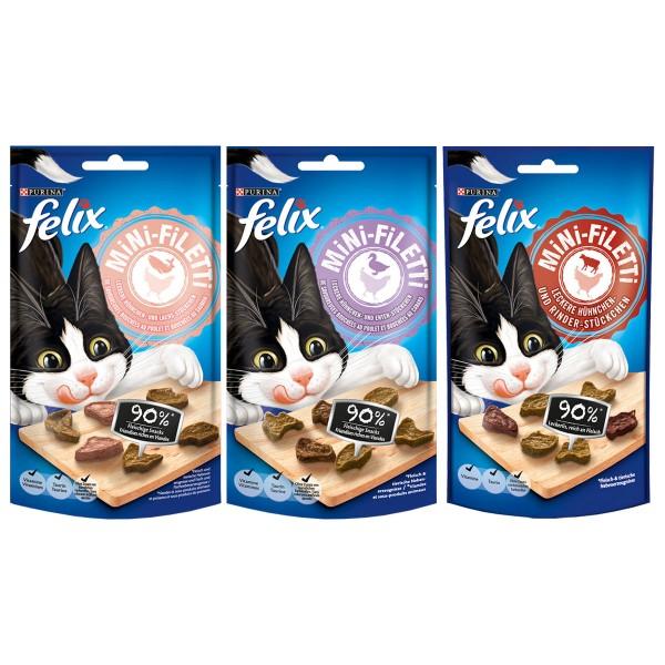 Felix Mini-Filetti Mixpaket 6x40g