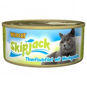 Wildcat Skipjack Thunfisch & Mischgemüse