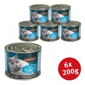 Leonardo Premium Katzenfutter All-Meat 6x200g