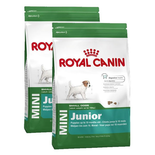 Royal Canin Hundefutter Mini Junior 2x8kg