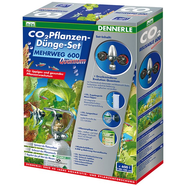 Dennerle CO2 Set MEHRWEG 600 Quantum