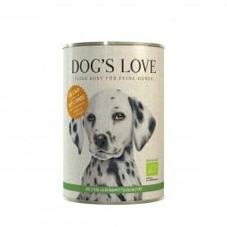 Dog's Love Bio Pute mit Amaranth, Kürbis & Petersilie