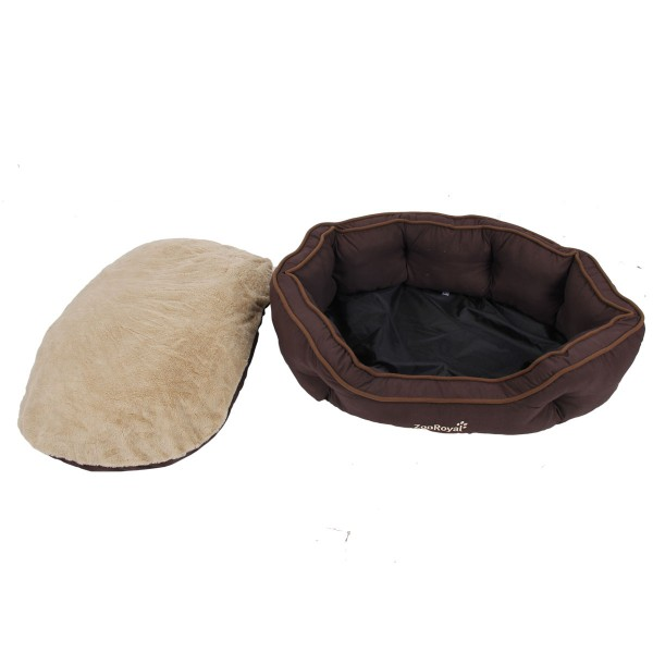ZooRoyal Hundebett Wido braun/ beige