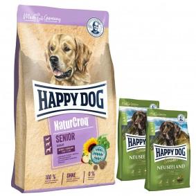 Happy Dog NaturCroq Senior 15kg + 2x300g Sensible Neuseeland