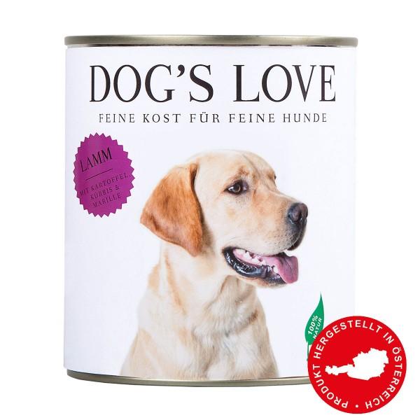 Dog's Love Classic Lamm mit Kartoffel, Kürbis & Marille