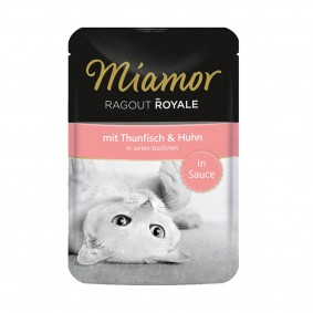 Miamor Ragout Royale in Sauce Thunfisch und Huhn