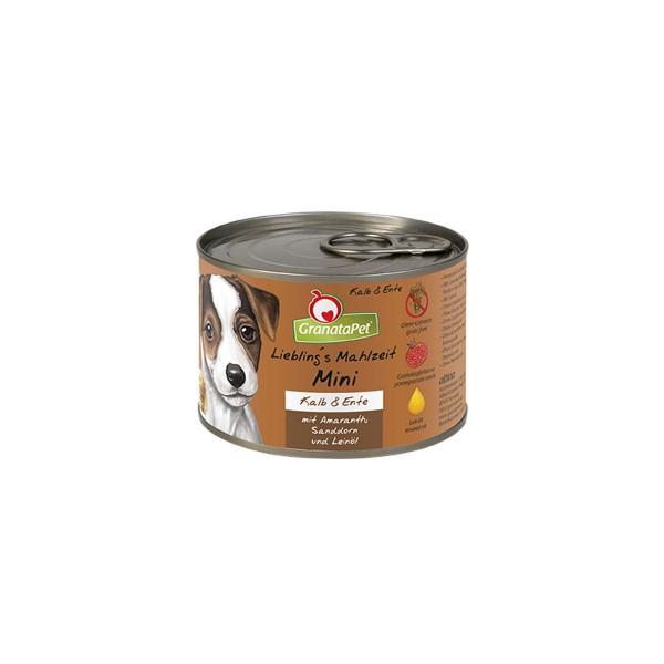 Grantapet Liebling´s Mahlzeit Mini Kalb & Ente 200g