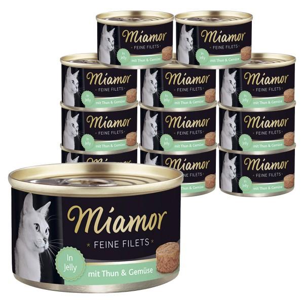 Miamor Feine Filets in Jelly 24x100g