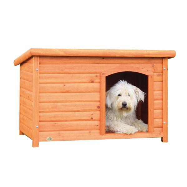 Trixie Flachdach Hundehütte Natura L, 104x68x72cm