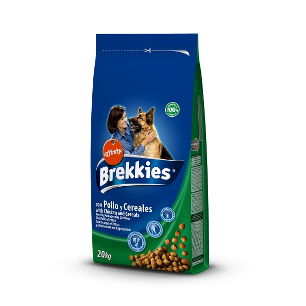 Brekkies Hundefutter Huhn und Reis 20kg