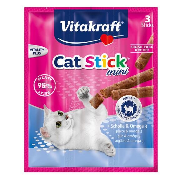 Vitakraft Cat Stick mini Scholle & Omega 3