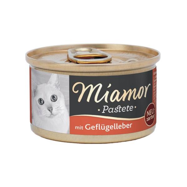 Miamor zarte Fleischpastete mit Geflügelleber