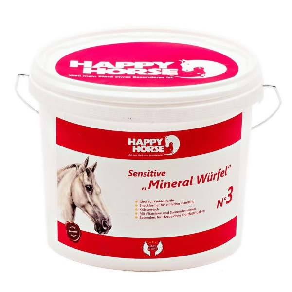Happy Horse Sensitive Mineral Würfel - 5kg