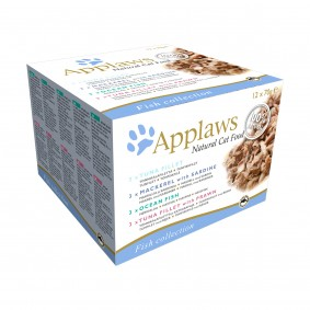 Applaws Cat Fisch Collection 12x70g