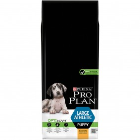 Pro Plan Large Puppy Athletic reich an Huhn & mit Reis 12kg