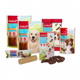 ZooRoyal Hundesnack Probierpaket 5-teilig + flexoDent gratis