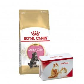 Royal Canin Feline Health Nutrition Kitten Maine Coon 4kg + Metalldose