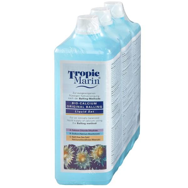 Tropic Marin Bio-Calcium Original Balling Liquid Set 3x1000ml