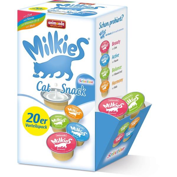 Animonda Katzensnack Milkies Selection Cup 20x15g