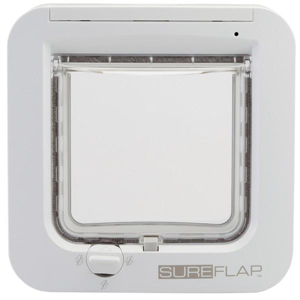 SureFlap Mikrochip Katzenklappe - Weiß