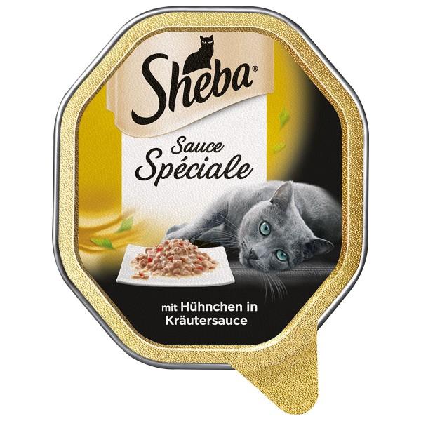 Sheba Katzenfutter Sauce Speciale Hühnchen in Kräutersauce
