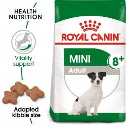 ROYAL CANIN MINI Adult 8+ 2kg + Mini Adult in Soße 12x85g