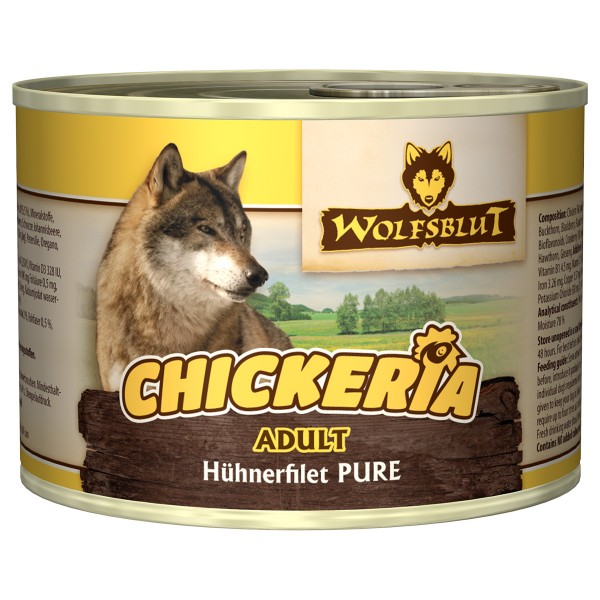 Wolfsblut Chickeria Adult Pure Hühnerfilet