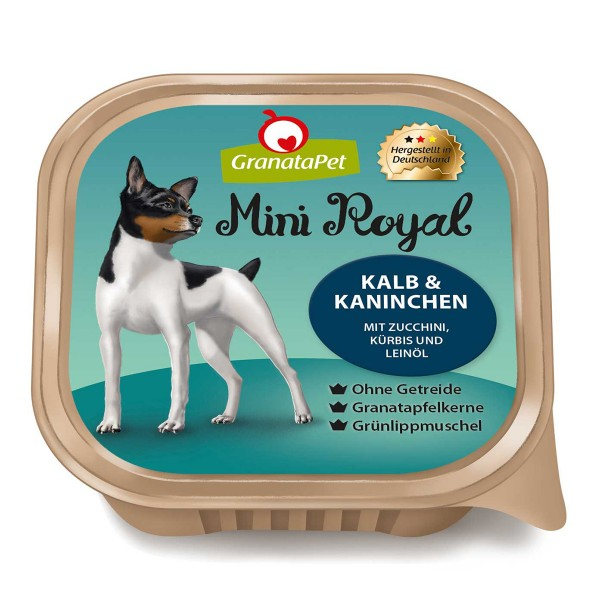 GranataPet Mini Royal Kalb und Kaninchen