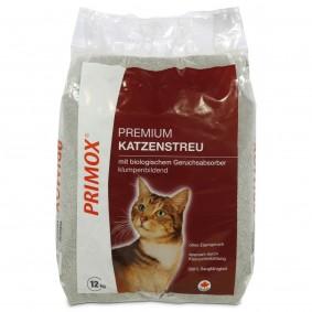 Primox Premium Katzenstreu mit  Geruchsabsorber 12kg
