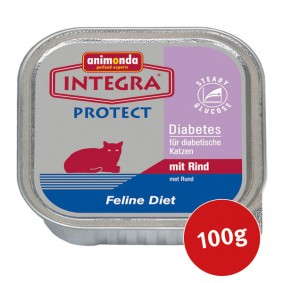 Animonda Katzenfutter Integra Protect Diabetes mit Rind 100g