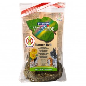 Vitakraft Vita Verde Heuglocke mit Karotte für Nager