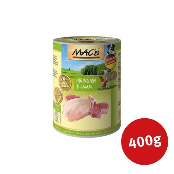 MAC's Dog Hundefutter Hühnchen und Lamm