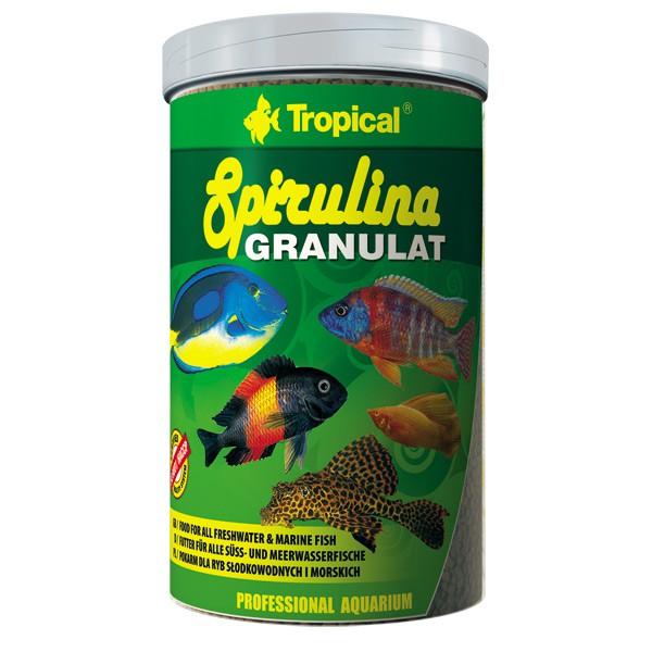Tropical Fischfutter Spirulina Granulat