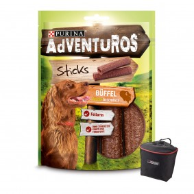 AdVENTuROS Sticks 3x120g + Futterbeutel gratis