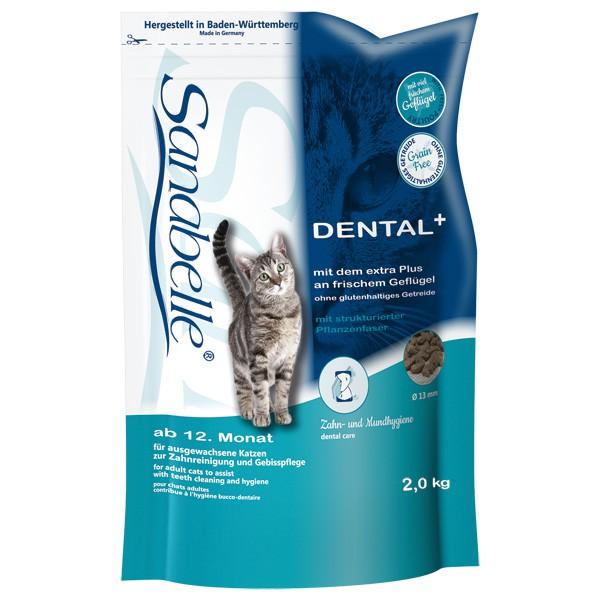 Sanabelle Dental Katzen-Trockenfutter - 2kg