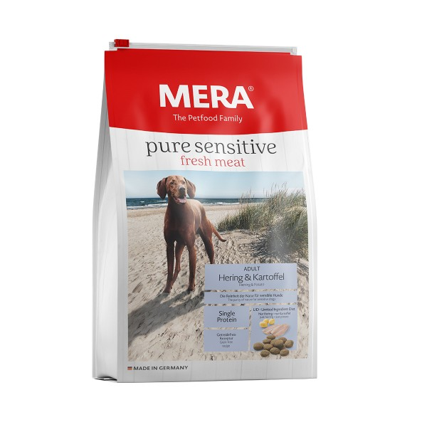 MERA pure sensitive Trockenfutter fresh meat Hering&Kartoffel