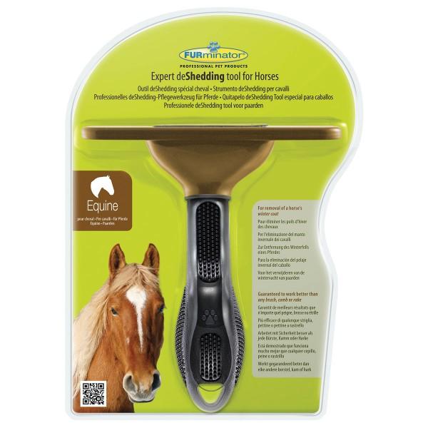 FURminator deShedding Pflegewerkzeug für Pferde