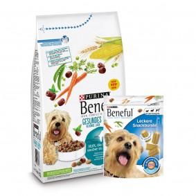 Beneful Hundefutter Gesundes Lächeln 11kg + Snackbürste 130g GRATIS