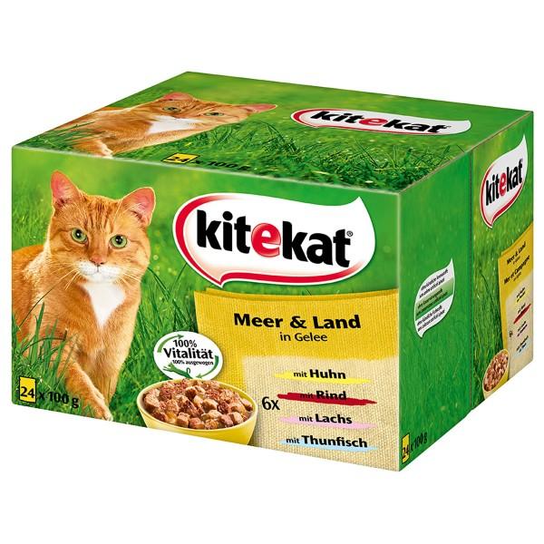Kitekat Katzenfutter Meer & Land Multipack