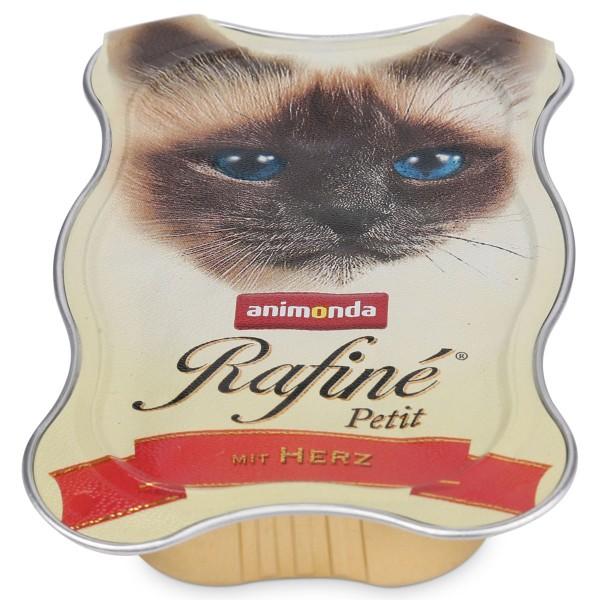 Animonda Katzenfutter Rafiné Petit mit Herz