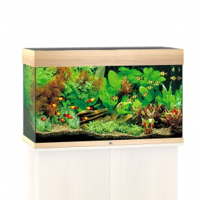 Juwel Rio 125 LED Komplett Aquarium ohne Schrank weiß