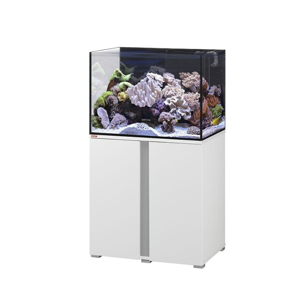 ohne Heizung Offen 60 Liter Aquarium Set Heller Glanz