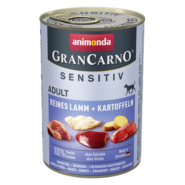 Animonda GranCarno Sensitiv reines Lamm und Kartoffeln
