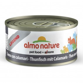 Almo Nature Legend Katzenfutter 24x70gThunfisch mit Calamaris