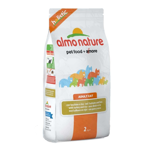 Almo Nature Holistic Cat Truthahn+Reis - 400g