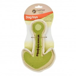 Earthy Pawz Holz Hundespielspielzeug Anker 21×14cm