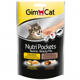 GimCat Nutri Pockets Taurine-Beauty Mix