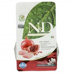 N&D Hundefutter Huhn&Granatapfel Adult getreidefrei