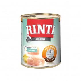 Rinti Hunde-Nassfutter Sensible Huhn und Kartoffel 800g